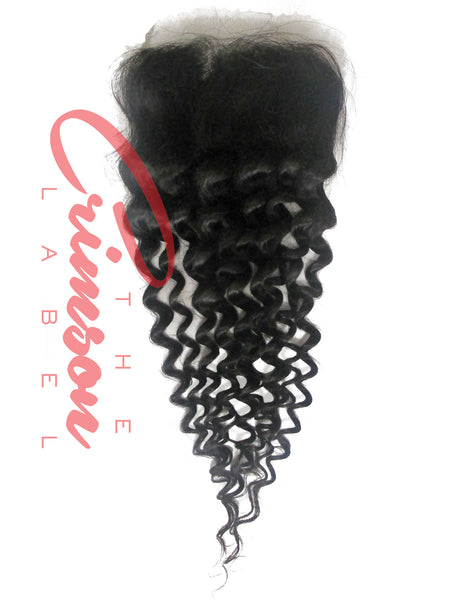 Brazilian Afro Curly Lace Closure | Scarlett Collection