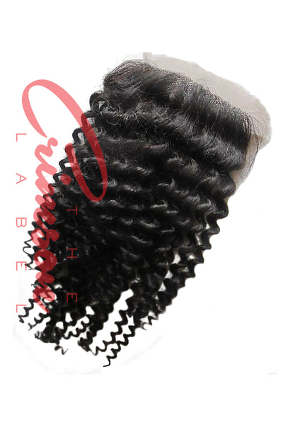 Brazilian Kinky Curly Lace Closure | Scarlett Collection