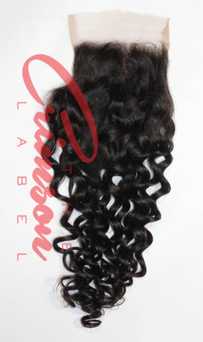 Eurasian Ocean Wave Lace Closure | Fiji Wave | Carmine Collection