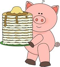 If you give a pig a pancake...