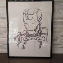 Load image into Gallery viewer, Super Hero Mask Complex || single one line pen drawing