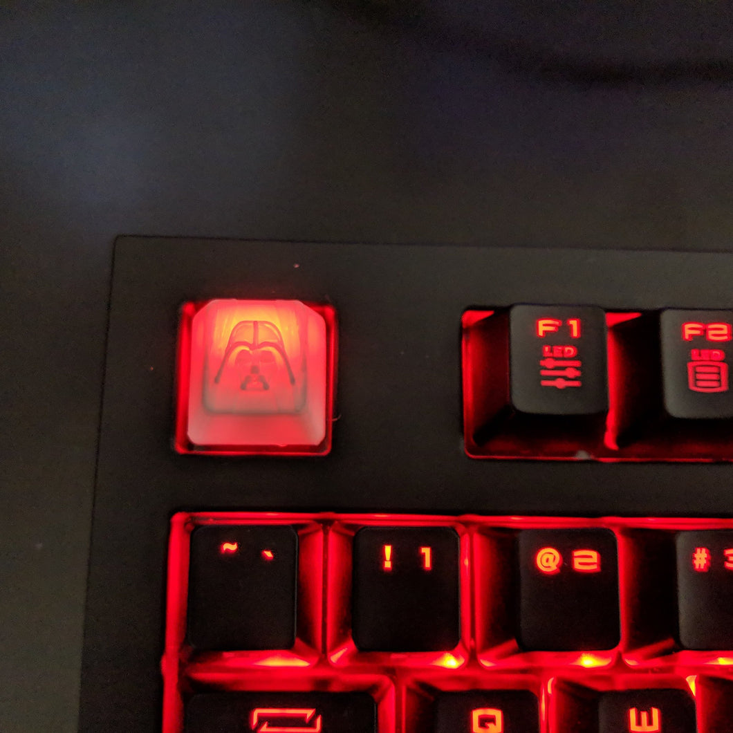 Star Wars Darth Vader Keycap || For Mechanical Cherry MX switches ||