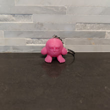 Load image into Gallery viewer, Creepy Kirby Keychain / Figurine - Casual Chicken
