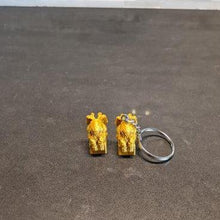 Load image into Gallery viewer, Cthulhu Keychain / Mini Figurine - Casual Chicken