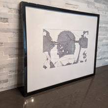 Load image into Gallery viewer, Street Fighter Ryu Abstract Drawing || single one line pen drawing