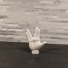 Load image into Gallery viewer, Vulcan Salute Hand Sign Mini Statue || Star Trek