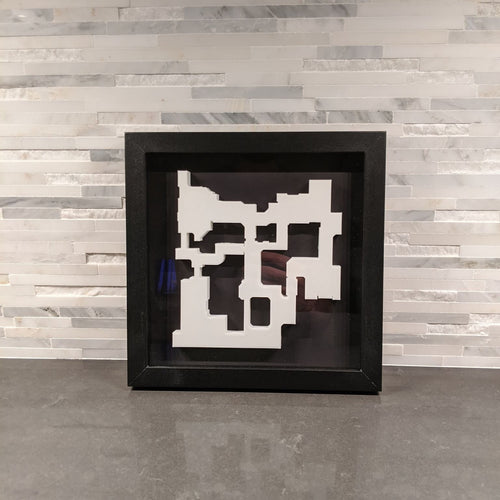 CSGO 3D Map de_dust2 Layout || Framed Picture Art || Counter-Strike: Global Offensive || - Casual Chicken