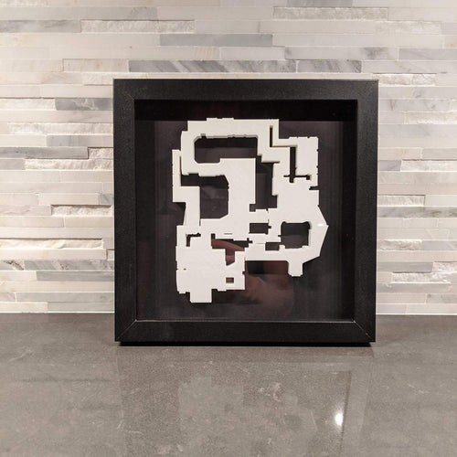 CSGO 3D Map de_mirage Layout || Framed Picture Art || Counter-Strike: Global Offensive || - Casual Chicken