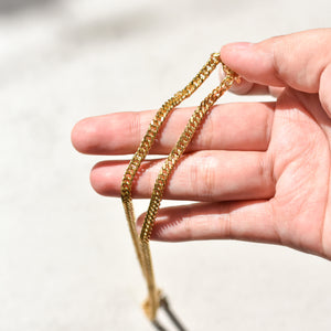 Semi Thick Cuban Chain Necklace