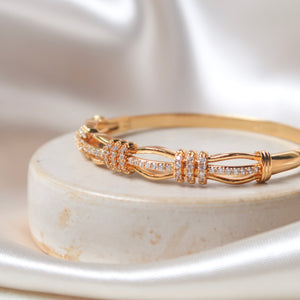 Regal Diamond Bangle