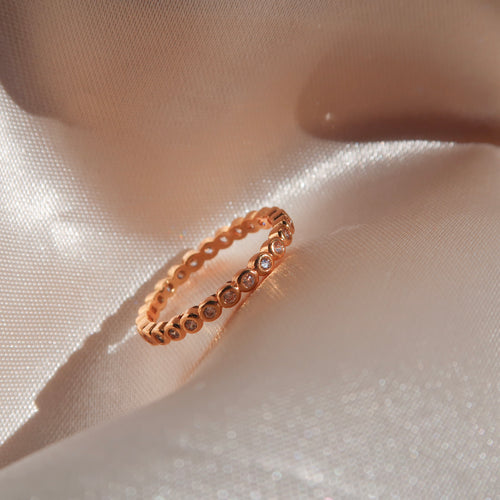 Eternity Diamond Ring in Gold