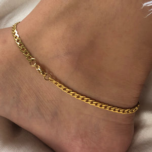 Barbada Chain Anklet