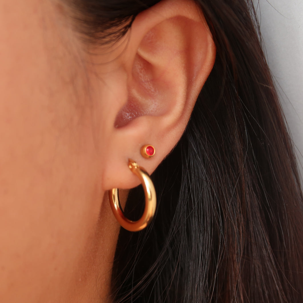 Chunky Mila Hoops 15mm