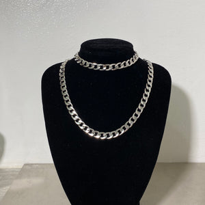 Chunky Link Chain in Silver