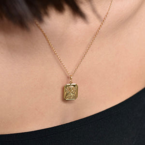 PREMIUM Mary & Child Necklace