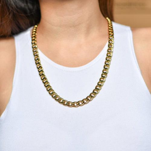 Chunky Link Chain in Gold