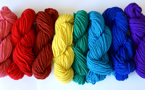 4 Ply Rug Wool Yarn for Punch Needle Rug Hooking
