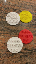 Load and play video in Gallery viewer, Mother's Day Fondant Embossers/Stamps - Made in Canada