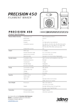 Load image into Gallery viewer, 3devo Precision 450 Filament Maker