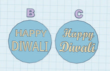 Load image into Gallery viewer, Diwali Fondant Embosser/Stamp - 3D Printed - Made in Canada
