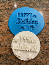 Load image into Gallery viewer, Happy Birthday Fondant Embossers/Stamps - Made in Canada