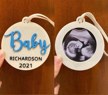 Load image into Gallery viewer, Custom Baby Ultrasound Keepsake - Made in Canada