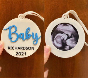 Custom Baby Ultrasound Keepsake - Made in Canada