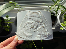 Load image into Gallery viewer, 3D Baby Ultrasound Lithophane Photo - Made in Canada