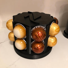 Load image into Gallery viewer, Nespresso Vertuo Coffee Pod Holder - Spinning Carousel - 3D Printed - Made in Canada