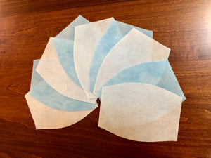 99%+ Filtration Efficiency Nanofiber Face Mask Inserts - 10 PACK - Same Day Shipping From Canada