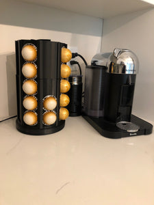 Nespresso Vertuo Coffee Pod Holder - Spinning Carousel - 3D Printed - Made in Canada