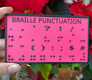 Braille 3D Learning Board - Made in Canada