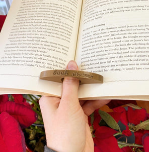Customizable Book Page Holder - Many Colours Available - Made in Canada