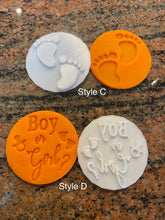 Load image into Gallery viewer, New Baby Fondant Embossers/Stamps - Made in Canada