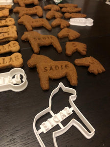 CUSTOM Horse Treats Cookie Cutter - Made in Canada