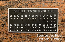 Load image into Gallery viewer, Braille 3D Learning Board - Made in Canada