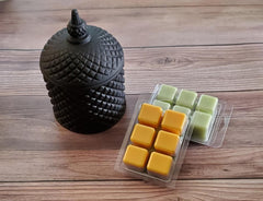 Luxe Candle and Wax Melt Set (Black)