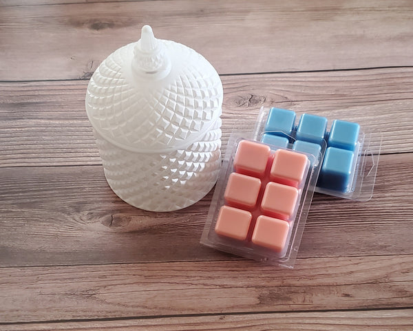 Luxe Candle and Wax Melt Set (White)