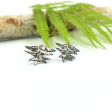 Load image into Gallery viewer, Fern Stud Earrings