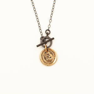 Wax Seal Medallion Necklace
