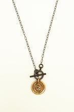 Load image into Gallery viewer, Wax Seal Medallion Necklace