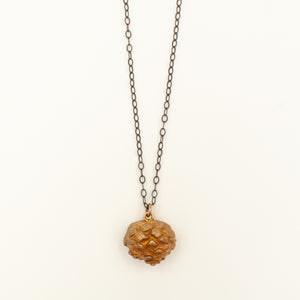 Pine Cone Necklace