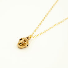Load image into Gallery viewer, Tiny Skull Necklace
