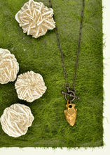 Load image into Gallery viewer, Edgy Arrowhead Necklace