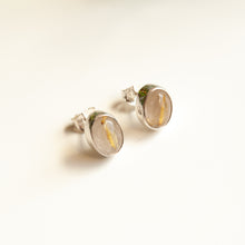 Load image into Gallery viewer, Rutilated Quartz Studs