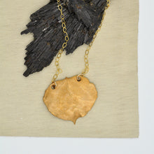 Load image into Gallery viewer, Aspen Leaf Necklace