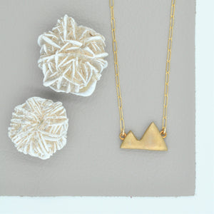 Small Mountains Necklace