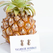 Load image into Gallery viewer, Tiny Pineapple Studs