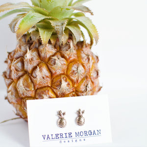Tiny Pineapple Studs