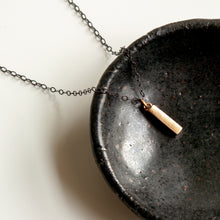 Load image into Gallery viewer, Edgy Mini Bar Necklace